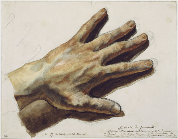 """Gericault's Hand"" by Theodore Gericault."