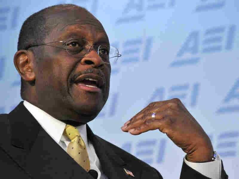 Republican presidential contender Herman Cain on Monday (Oct. 31, 2011) in Washington, D.C.
