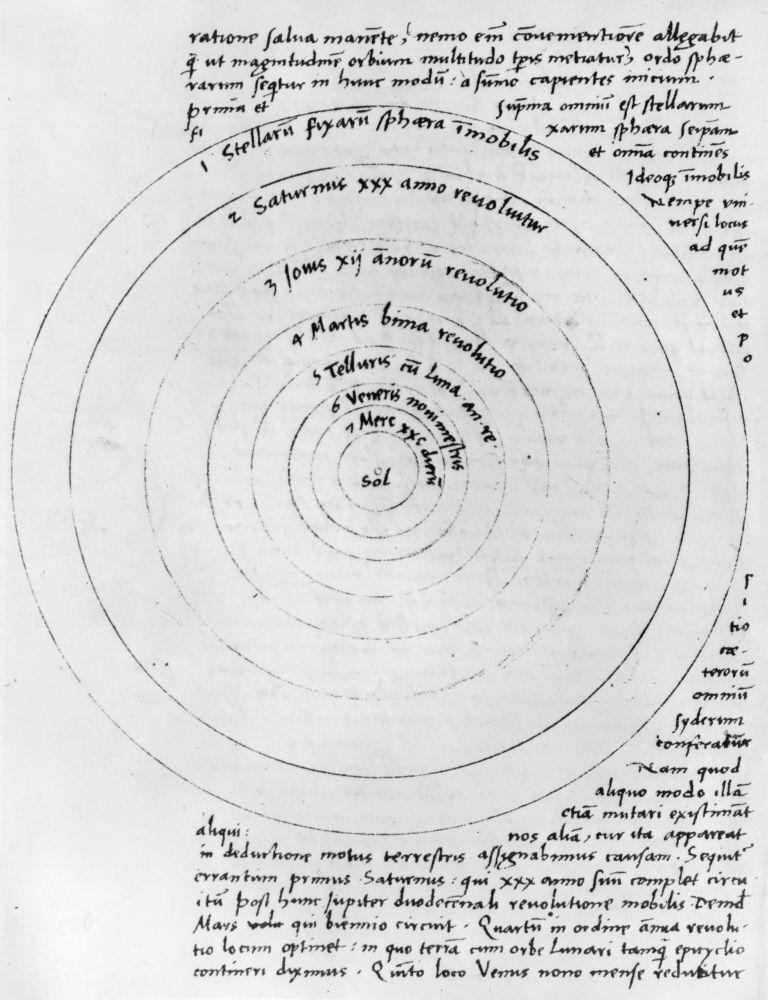 For Copernicus, A 'Perfect Heaven' Put Sun At The Center : NPR