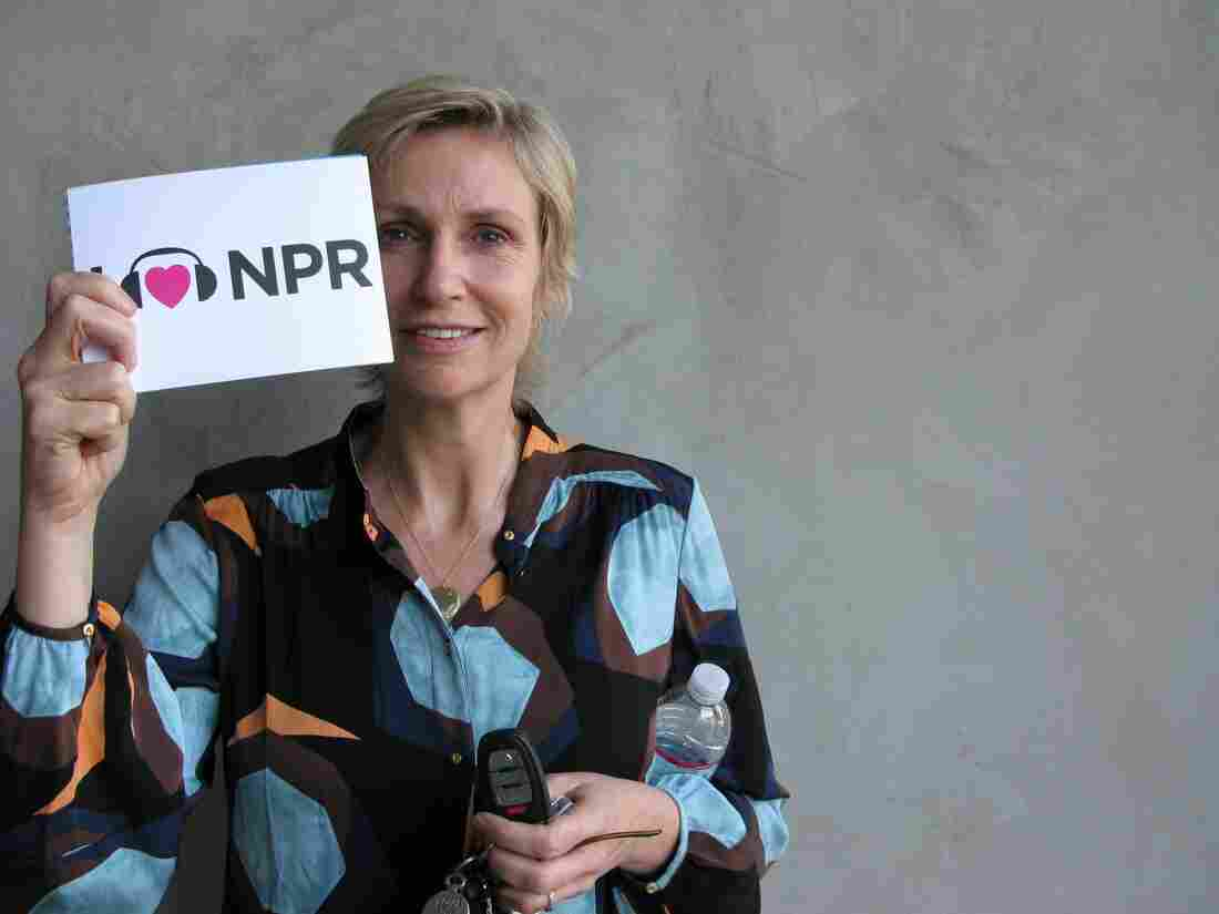 Jane Lynch at NPR West