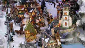 A snow village. iStockphoto.com