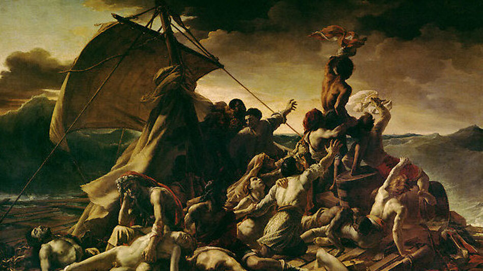 an analogy of the raft of the medusa a painting by theodore gericault Need writing the laugh of the medusa a critique of the raft of the medusa, a painting by theodore gericault an analogy of the raft of the medusa, a painting.