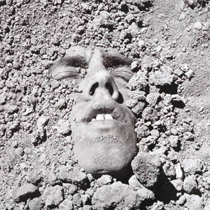 "David Wojnarowicz, ""Untitled (Face in Dirt)"" c. 1990"