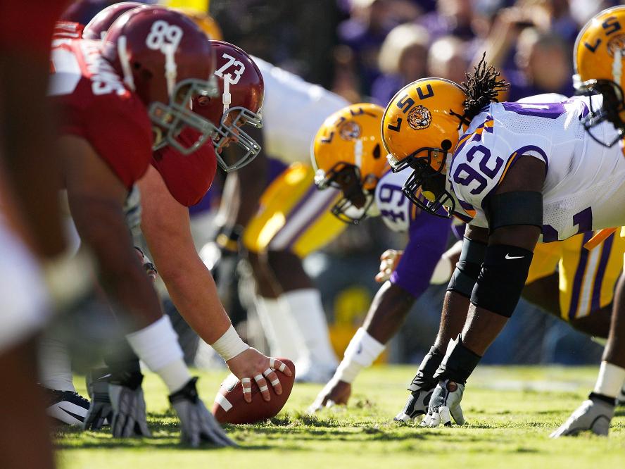 LSU-Alabama Preview: The Honey Badger As X Factor : NPR