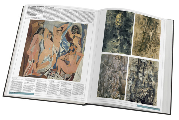 """If The Art Museum were a real museum and not just a book, there would hardly be need for another. At 18 pounds and 922 pages, the expansive book is organized into thematic """"galleries,"""" and within those """"rooms"""" dedicated to solo artists, like Picasso."""