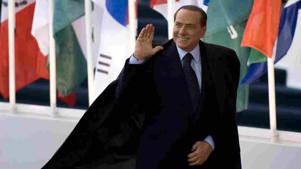 Italian Prime Minister Silvio Berlusconi arrived Thursday for a bilateral meeting before the start of the two-day G-20 summit in Cannes, France.