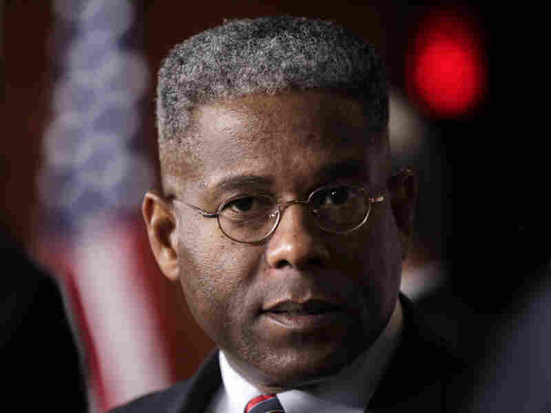 Rep. Allen West talks about the standoff between Democrats and Republicans over the debt crisis in Washington, July 30.