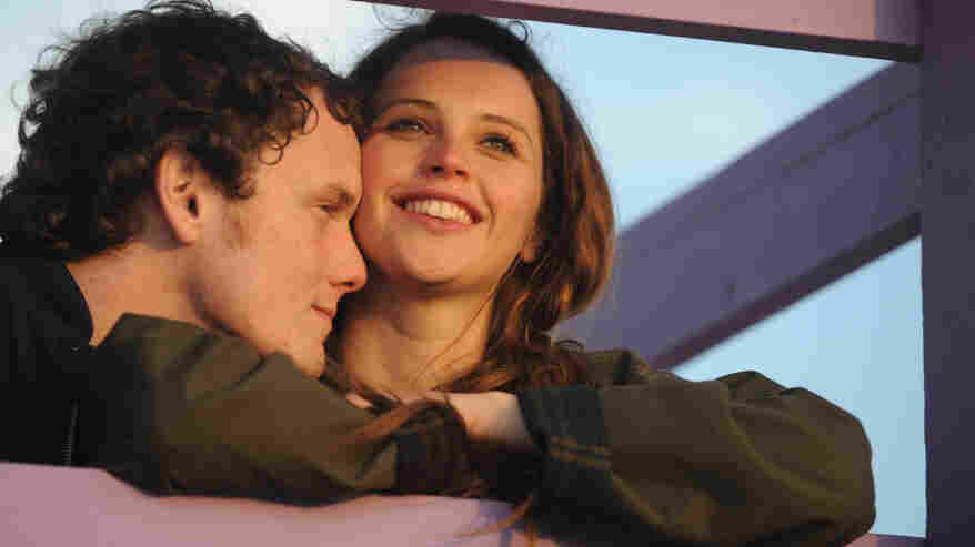 In Drake Doremus' drama Like Crazy, the love-struck Jacob (Anton Yelchin) and Anna (Felicity Jones) are forced to separate when Anna violates the terms of her student visa.