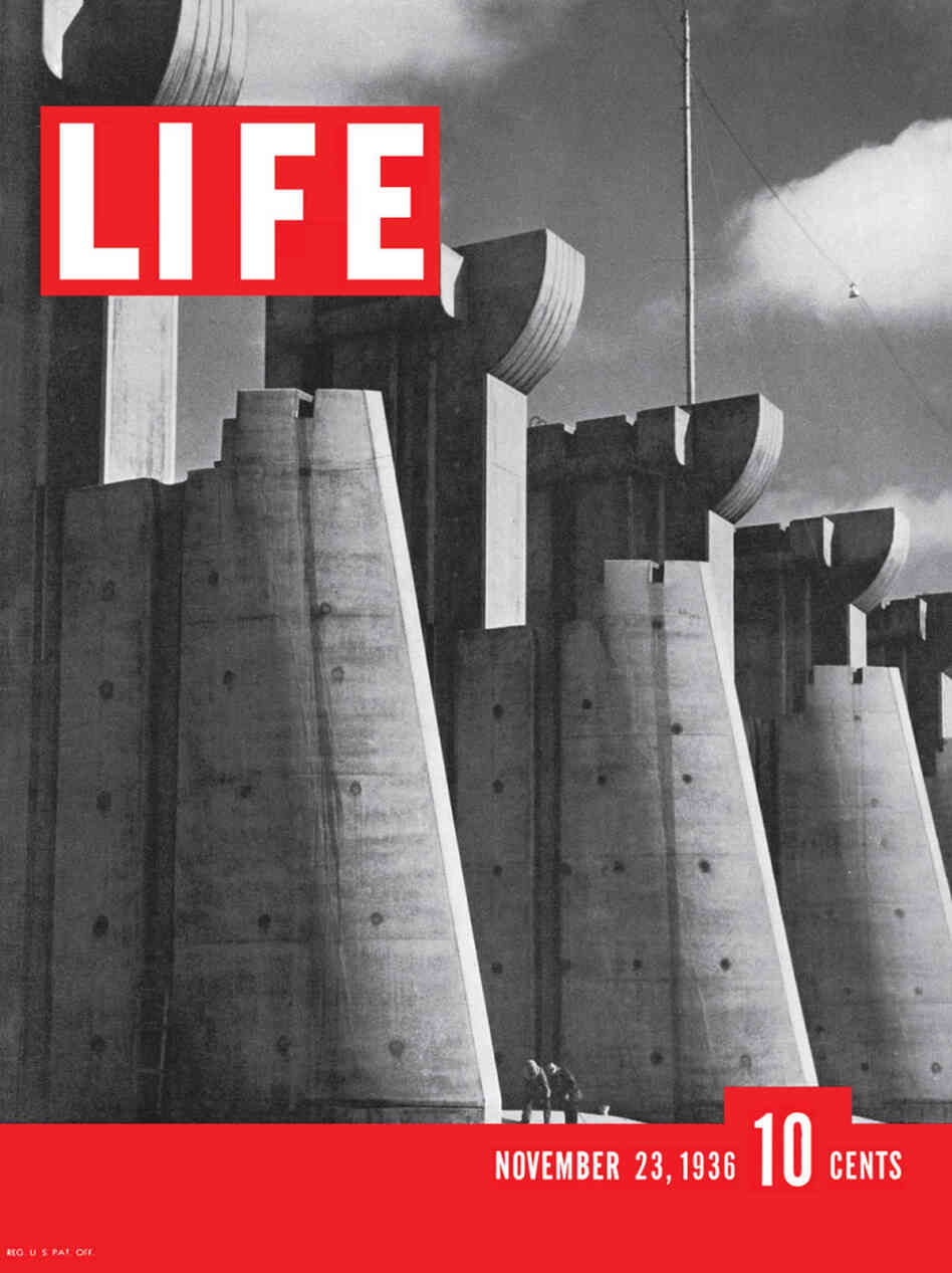 The first cover of Life magazine