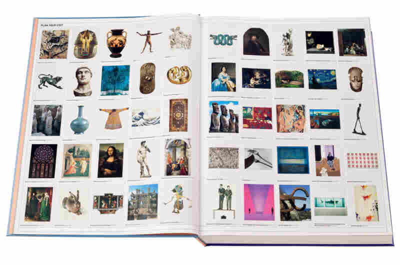"""The Art Museum's """"Plan Your Visit"""" page acts as a table of contents showing the reader different galleries to peruse, like ancient Rome, pre-Columbian Americas and art since the mid-20th century."""