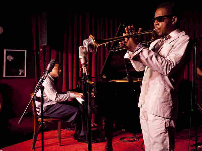 Roy Hargrove performs at the Village Vanguard.