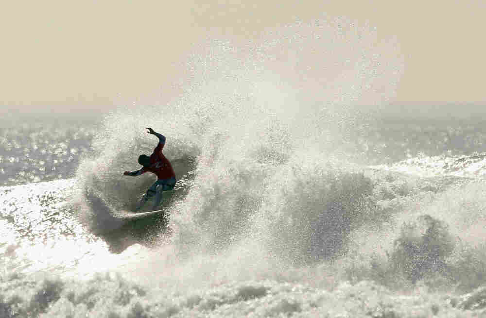 Life can be viewed as a fast-moving wave; you can be the surfer riding it.