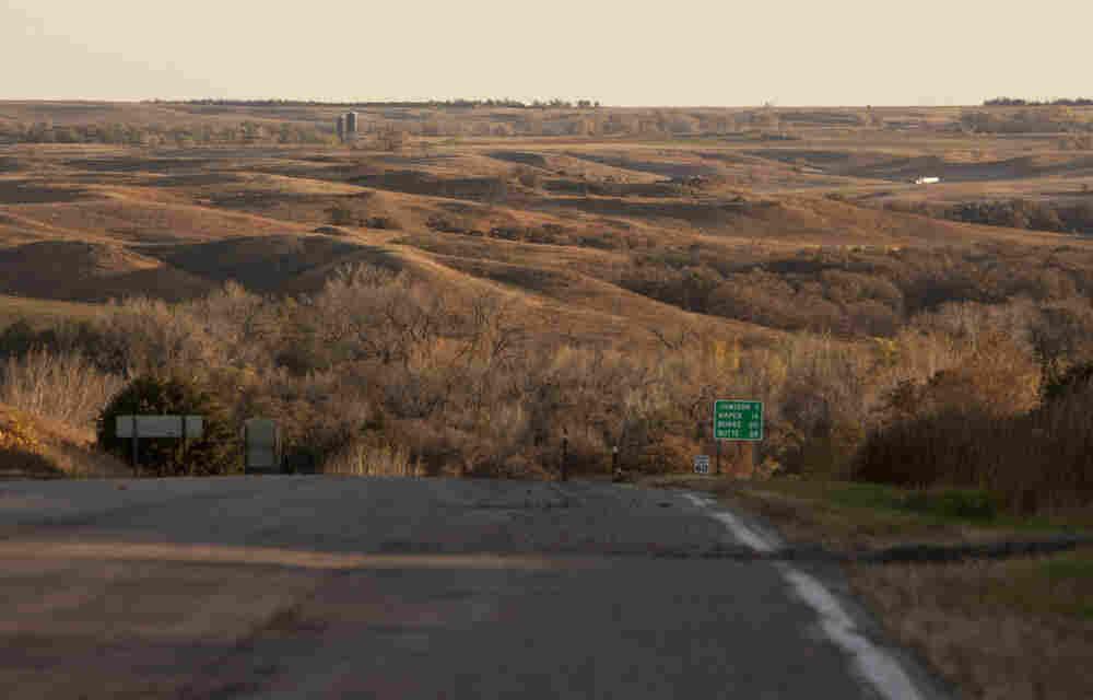 TransCanada plans to build the Keystone XL pipeline through Nebraska's Sandhills region shown here in Mills, Neb. State legislators have introduced bills barring pipelines in environmentally sensitive areas like the Sandhills and the Ogallala aquifer.
