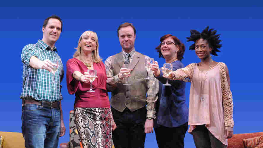 The Book Club Play, revamped by author Karen Zacarias as part of her residency in the American Voices New Play Institute at Arena Stage, is a comedy about life, love and literature.The cast included (from left) Eric Messner, Kate Eastwood Norris, Tom Story, Ashlie Atkinson and Rachael Holmes.