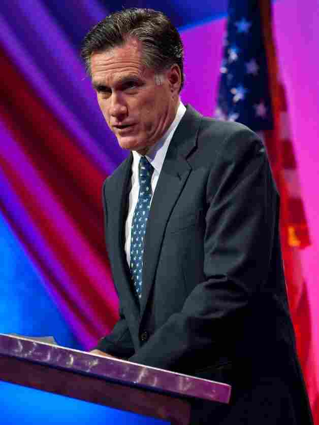 At the Defending the American Dream Summit on Friday in Washington, former Massachusetts Gov. Mitt Romney spent about 30 minutes methodically laying out the steps he would take to balance the budget.