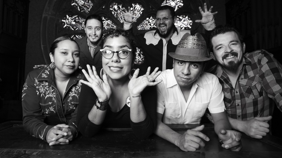 The Los Angeles band La Santa Cecilia is nominated in the Best Tropical Song category at this year's Latin Grammys. (Courtesy of the artist)