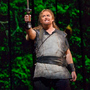 Jay Hunter Morris performs in the new Metropolitan Opera production of Richard Wagner's Siegfried. The show's vivid backdrops were created with advanced 3-D projection technology.