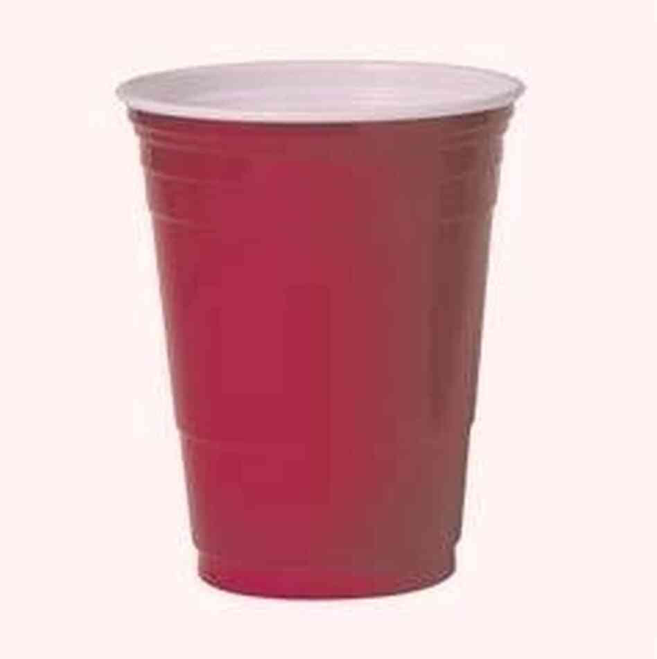 why are party cups red mental floss