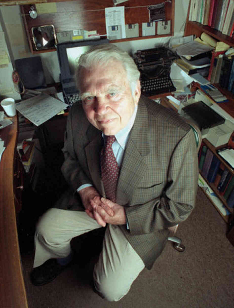 As a commentator for 60 Minutes, Andy Rooney became known as one of the most famous curmudgeons in American public life.