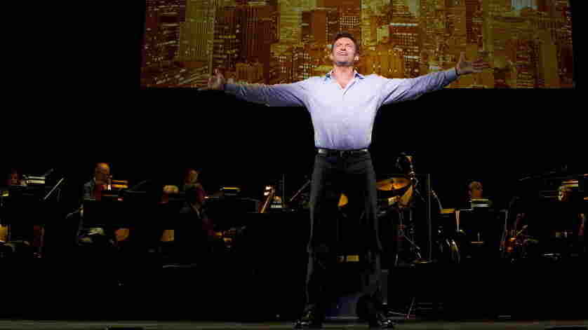 """Look Out, Jackman's Back: That's right, the set list for Hugh Jackman, Back on Broadway includes a run at """"Mack the Knife."""""""