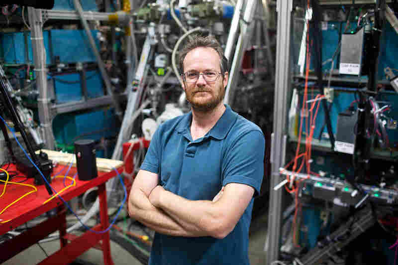 """Michel Laberge, president and chief technology officer of General Fusion, says the fusion machine he is developing """"is an insanely ambitious project."""""""