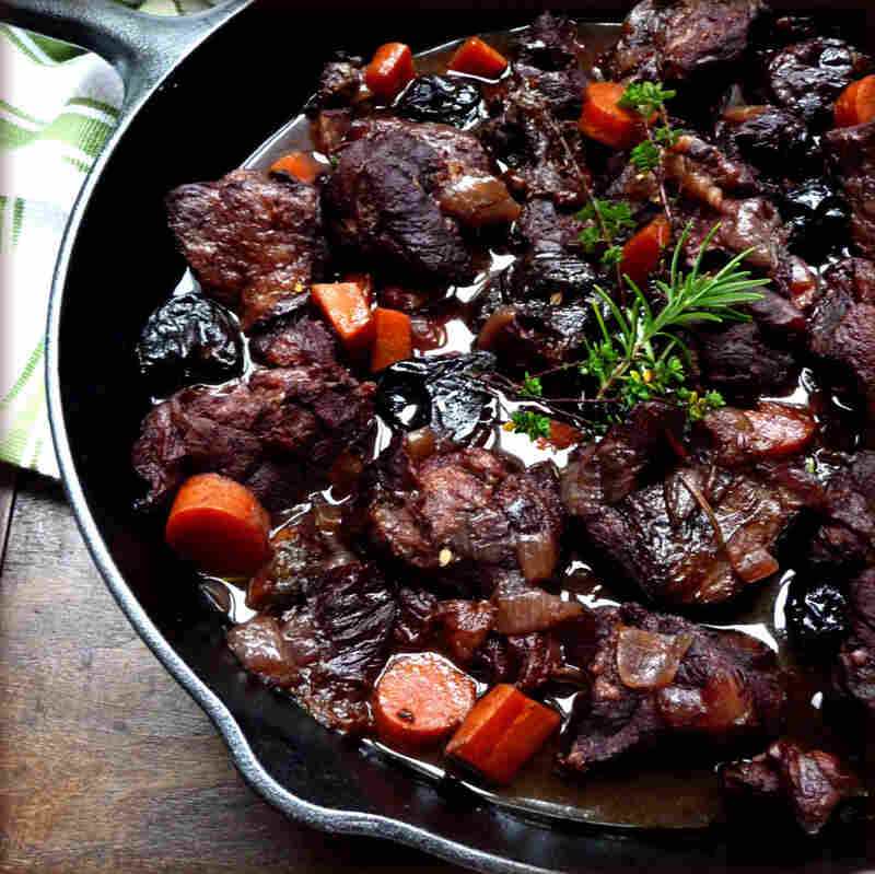 Boar Stew With Prunes And Armagnac