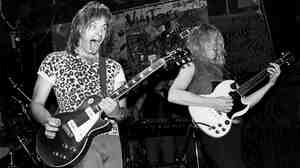 The fictional band from This Is Spinal Tap plays a real-life concert in 1984.