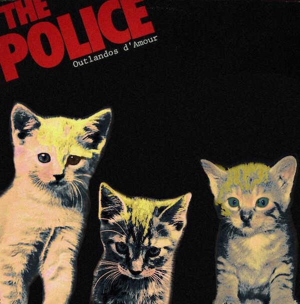 Kitten Covers - Police