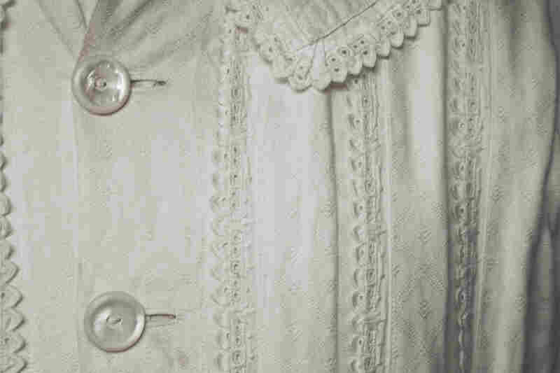 Emily Dickinson's only surviving dress, Amherst, Mass.
