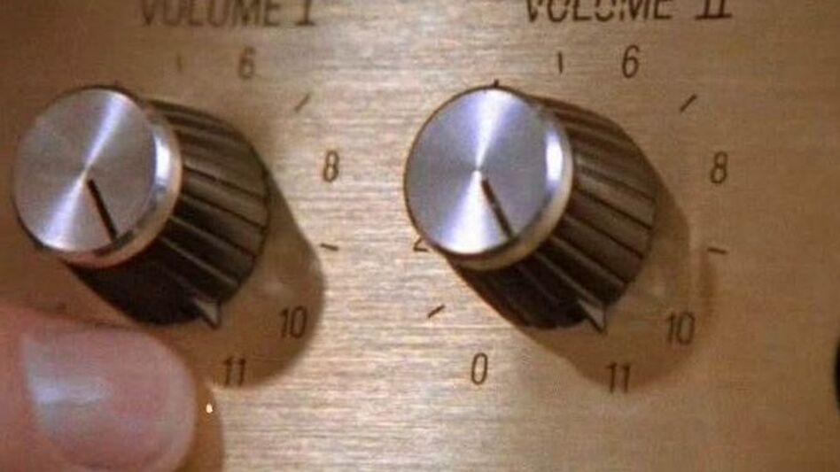 Most guitar amps go to 10. These go to 11. (Spinal Tap)