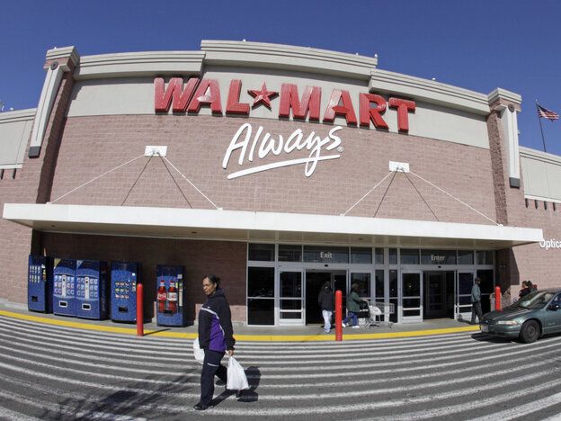 A trip to the local Wal-Mart, like this one in Oakland, Calif., could soon mean one less stop at the doctor's office.