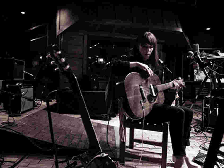 Feist performs at the Village Studios on KCRW's Morning Becomes Eclectic.