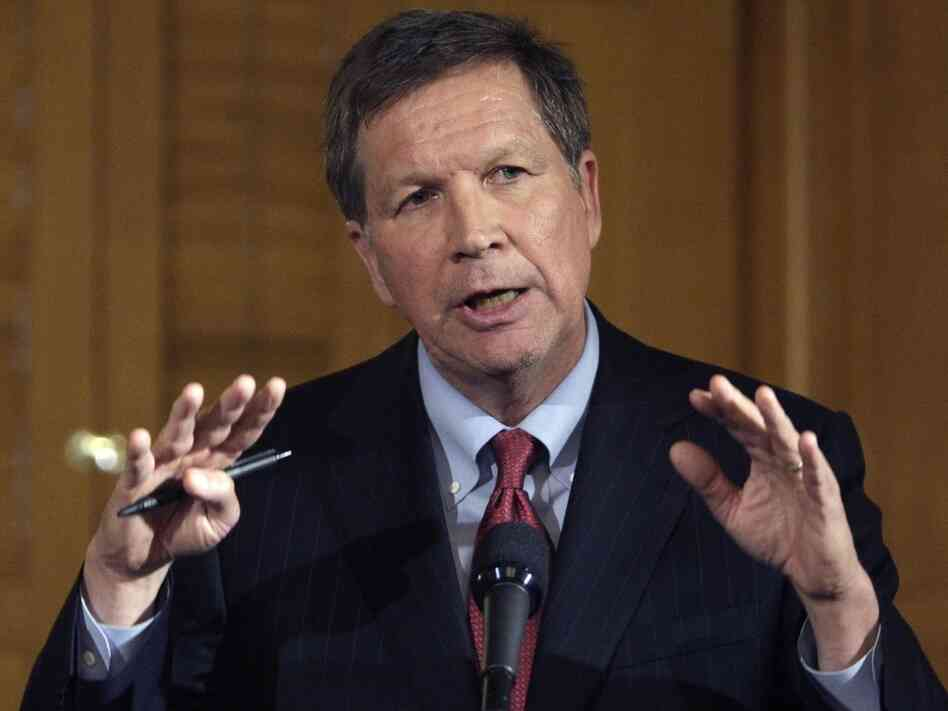 Ohio Gov. John Kasich in March, 2011.