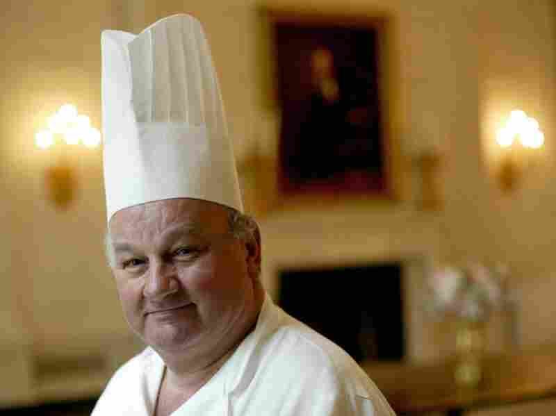 French-born pastry chef Roland Mesnier worked in the White House for 25 years.