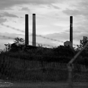 A view of the Tonawanda Coke plant in Tonawanda, N.Y. The New York Department of Environmental Conservation has confirmed that the factory was emitting benzene and other carcinogens at levels many times higher than the state's limit.
