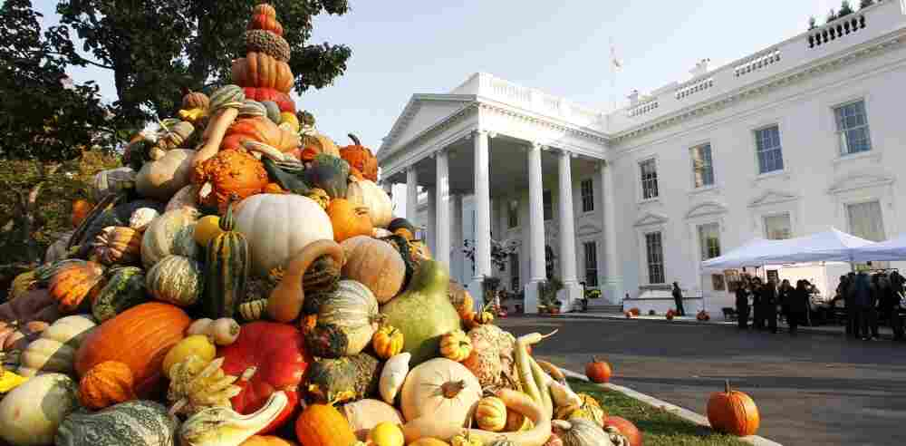 """Thanksgiving At The White House: First families have a lot to be thankful for — including the world-class chefs who make their food. Susan Stamberg shares her mother-in-law's cranberry relish recipe with two veteran presidential chefs. They say it reminds them of the infamous """"cheddar cheese ring"""" from the Carter administration."""