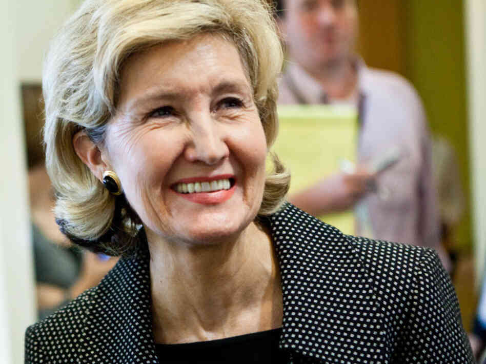 Sen. Kay Bailey Hutchison (R-TX) was one of the bill's sponsors.