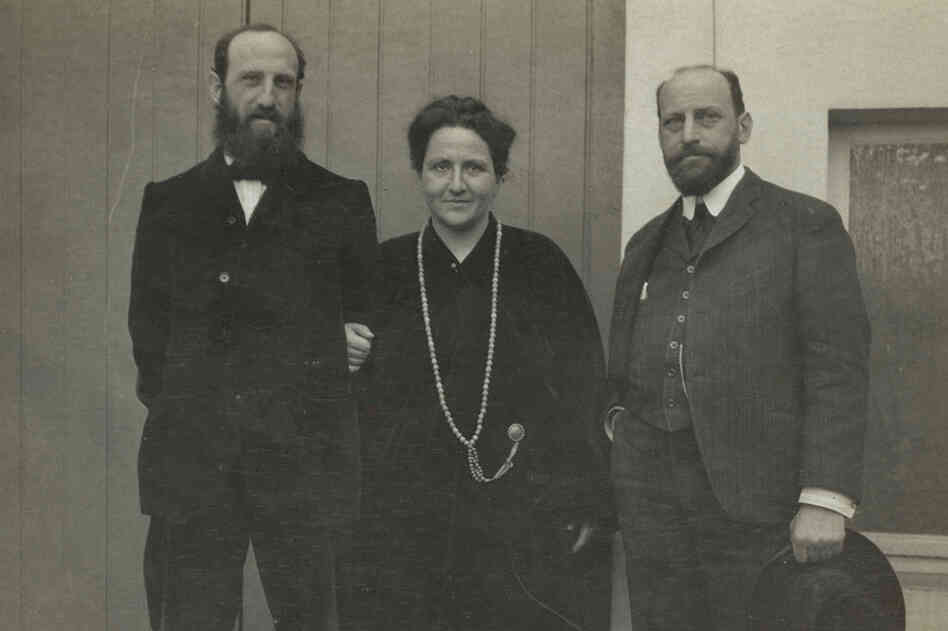 Siblings Leo, Gertrude and Michael Stein grew up in the Bay Area and moved to Paris in the early 1900s. Leo (left) and Gertrude (center) shared a tiny apartment at 27 Rue de Fleurus, which they filled with avant-garde art. Just a few blocks