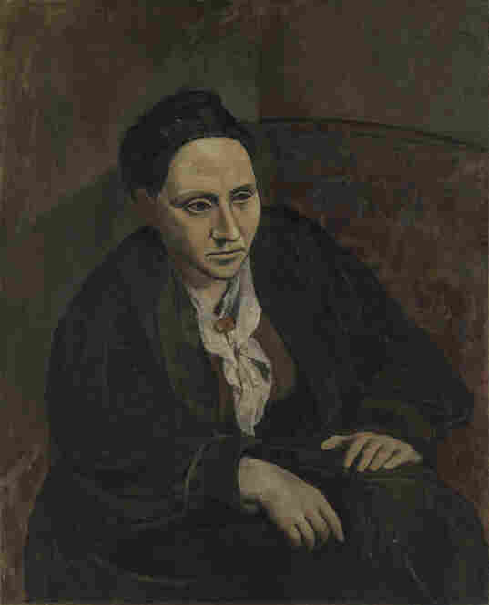 "At the top of the previous slide you can see Pablo Picasso's 1905-06 portrait of Gertrude Stein. When Stein told Picasso, ""It doesn't look like me,"" he replied, ""Don't worry. It will."""