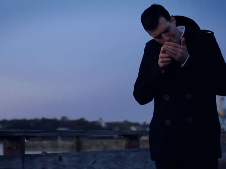 "A still from Defeater's ""Empty Glass"" music video."