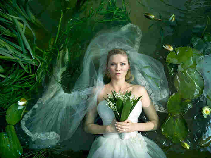 Kirsten Dunst plays Justine, whose well-planned wedding takes place as a planet called Melancholia heads directly towards Earth.