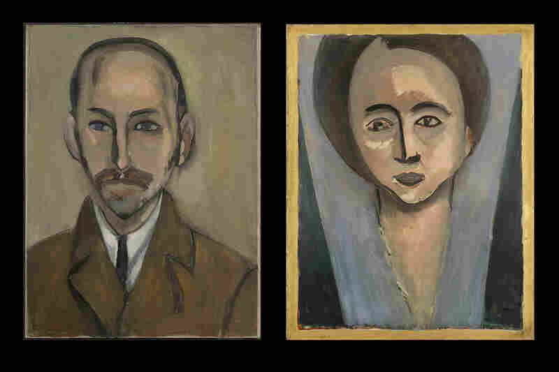 Henri Matisse's 1916 portraits of Michael and Sarah Stein. Matisse developed a deep friendship with Sarah; she was one of the few people to whom Matisse would show unfinished works.