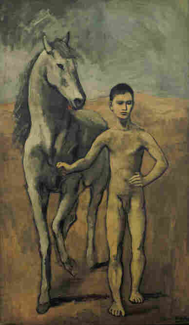 As two young, ambitious foreigners in Paris, Picasso and Stein quickly developed a deep and special bond, says Gary Tinterow of the Metropolitan Museum of Art. Above, Picasso's 1905-06 Boy Leading a Horse.