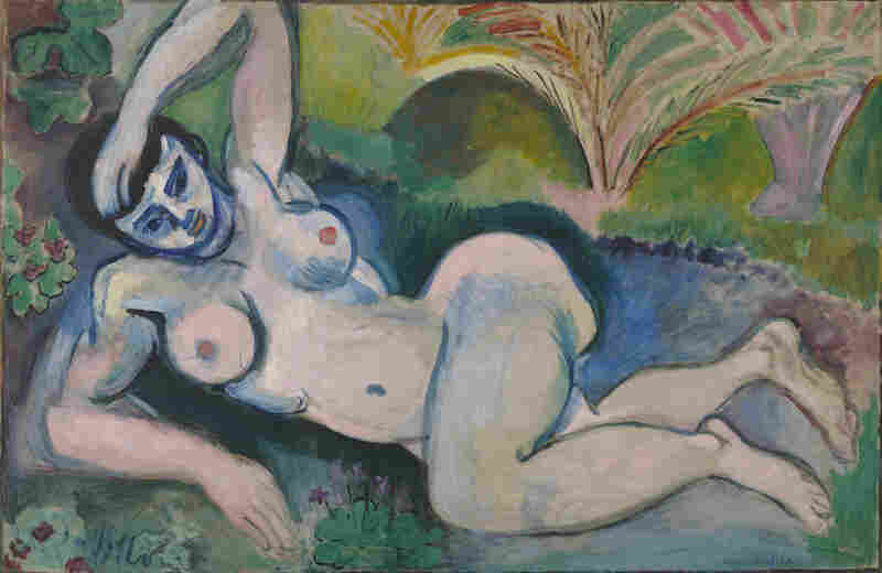 Michael and Sarah Stein collected more than 40 of Matisse's works, including his 1907 Blue Nude: Memory of Biskra.