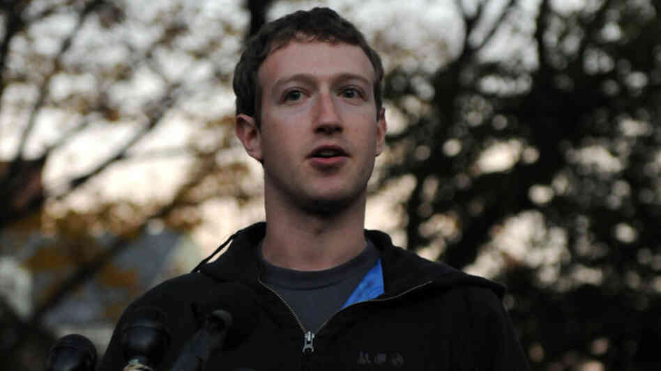 "Facebook is on the verge of adopting new ""opt in"" privacy settings, according to reports. Here, company founder Mark"