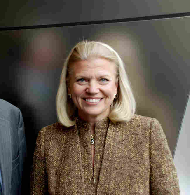 In October, Virginia Rometty was named IBM's first female CEO in its 100-year history. She studied computer science at Northwestern University before joining IBM as a systems engineer in 1981. In recent years, Rometty led IBM's Gobal Business division and oversaw its $3.5 billion acquisition of PricewaterhouseCoopers Consulting.