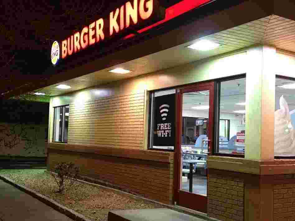 The Burger King where the fight happened that Andy M. Boyle witnessed and tweeted.