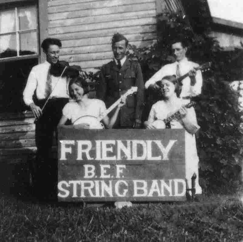 Lillie Linebarrier and her band, the Friendly Bonus Expeditionary Force String Band, performed at the Bonus March.