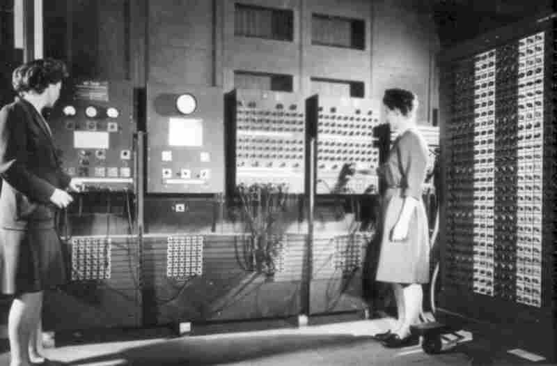 Fran Bilas Spence (left) and Jean Jennings Bartik are among a group of six female programmers inducted into the Women in Technologies Hall of Fame for their work on the ENIAC, an early computer built in 1946. The women had backgrounds in math, but their job also required physically managing over 3,000 switches to route the data. Many went on to develop computer storage capabilities and programm...