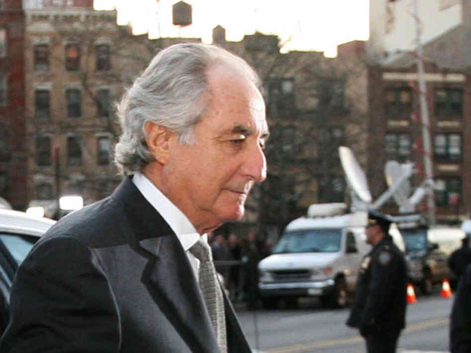 Bernard Madoff before his 2009 conviction.